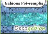 Gabions pré-remplis